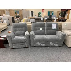 Clearance - Ashwood Palermo 2 Seater Power Sofa & Chair