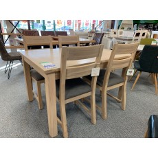 Clearance - Willis Gambier Cotswold Small Extending Table & 4 Chairs