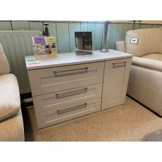Clearance - Kingstown Alpha 3 Drawer 1 Door Sideboard
