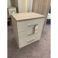 Clearance - Kingstown Leon 3 Drawer Wide Chest