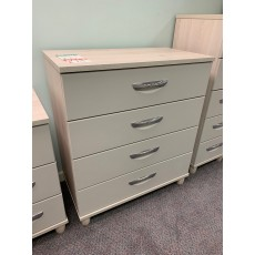 Clearance - Kingstown Moda 4 Drawer Large Chest