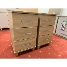 Clearance - Kingstown Deco 3 Drawer Narrow Chest