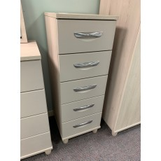 Clearance - Kingstown Moda 5 Drawer Narrow Chest