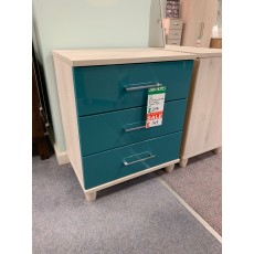 Clearance - Kingstown Halo 3 Drawer Wide Chest