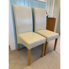 Clearance - Willis Gambier Fletton Chairs (Pair) - Ivory