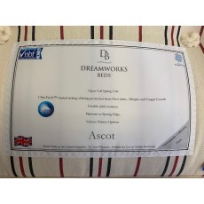 "Clearance - Dreamworks Ascot 4'6"" (135cm) Double Mattress"