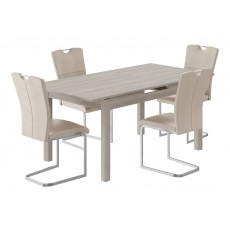 Kingstown Cosmos Extending Dining Table & 4 Chairs