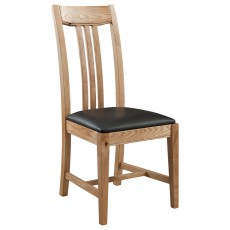 Columbia Dining Chair - PU Seat (Pair)