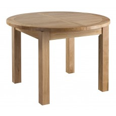 Columbia Round Extending Dining Table