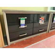 Clearance - Kingstown Cosmos 6 Drawer Chest - Graphite