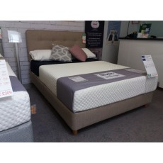 Clearance - Silentnight 4'6' (135cm) Studio Mattress (Firmer) with Myers Shallow Base PLUS H/Board