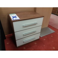 Clearance - Rauch Vereno-Extra 3 Drawer Bedside Chest