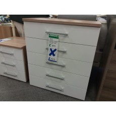 Clearance - Rauch Molmo 5 Drawer Chest