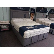 Clearance - Hypnos Alto 5'0' (150cm) Kingsize Mattress with Ottoman Base PLUS Isobella Headboard