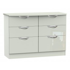 Welcome Cambridge 6 Drawer Midi Chest
