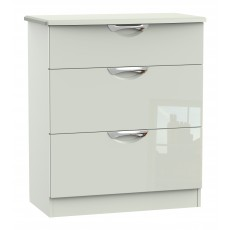 Welcome Cambridge 3 Drawer Deep Chest