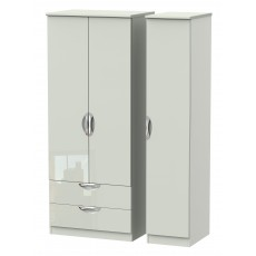 Welcome Cambridge Triple 2 Drawer Robe