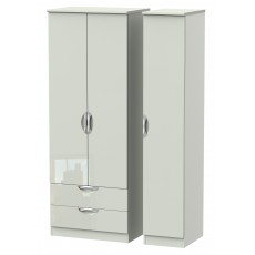 Welcome Cambridge Tall Triple 2 Drawer Robe