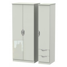 Welcome Cambridge Triple Plain + Drawer Robe