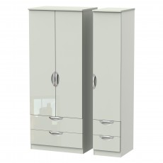 Welcome Cambridge Triple 2 Drawer + Drawer Robe