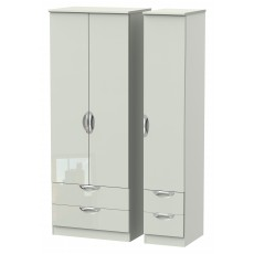 Welcome Cambridge Tall Triple 2 Drawer + Drawer Robe