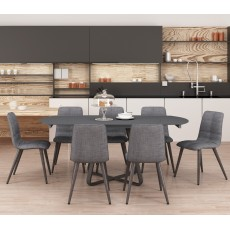 Reflex Table & 6 Chair Set