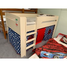 "Clearance - 3'0"" (90cm) Saturn Mid Sleeper Bed & Blue Star Tent"