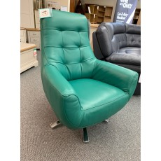 Clearance - HTL Washington Swivel Chair in Leather