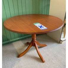 Clearance - Gola Downton Circular Fixed-Top Dining Table