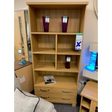 Clearance - Kingstown Dalby 2 Drawer Bookcase
