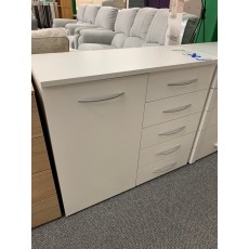 Clearance - Rauch Molmo 5 Drawer 1 Door Chest