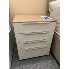 Clearance - Rauch Zenaya 4 Drawer Bedside Chest
