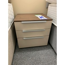 Clearance - Rauch Zenaya 3 Drawer Bedside Chest