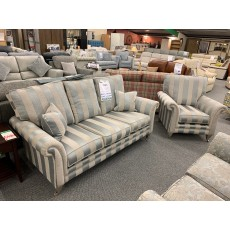 Clearance - Alstons Eden 3 Seater Sofa & Chair