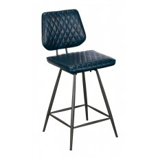 Baker Nickel Dalton Swivel Bar Stool