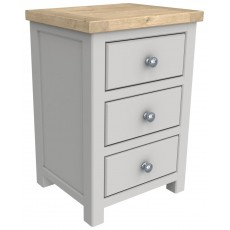 Bretton 3 Drawer Bedside
