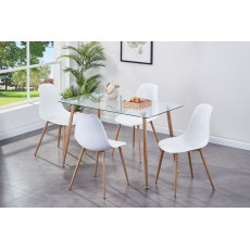 Milana Table & Chair Set