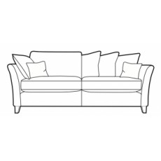 Living Homes Lily Extra Large Sofa