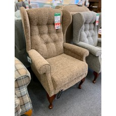 Clearance - Sherborne Brompton High Seat Armchair