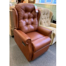 Clearance - Celebrity Woburn Standard Single Motor Riser Recliner in Lena Leather