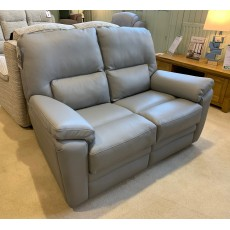 Clearance - Parker Knoll Hampton 2 Seater Fixed Sofa in Leather