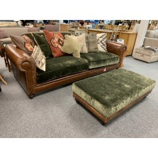 Clearance - Tetrad Constable Grand Sofa & Large Rectangular Footstool