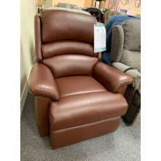 Clearance - Sherborne Olivia Power Reclining Chair in Leather