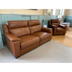 Clearance - HTL Nashville 2.5 Seater Power Sofa, Fixed 2 Seater Sofa & Power Chair