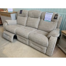Clearance - Parker Knoll Boston 3 Seater Power Sofa & 2 Seater Fixed Sofa