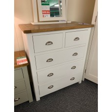 Clearance - Portbury 3+2 Drawer Chest