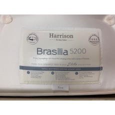 "Clearance - Harrison Brasilia 5200 5'0"" (150cm) Kingsize Dual-Tension Mattress Only"
