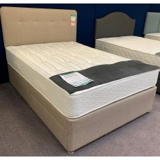 "Clearance - Slumberland Intense Ortho 800 4'6"" (135cm) Double 2 Drawer Divan Set + Headboard"