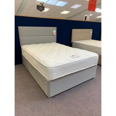 "Clearance - Slumberland Inspire Comfort 650 4'6"" (135cm) Double 2 Drawer Divan Set + Headboard"