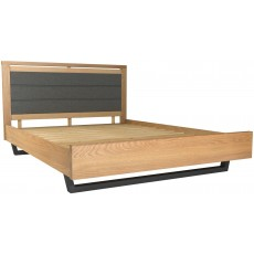 "Forest 5'0"" Kingsize Upholstered Bed"